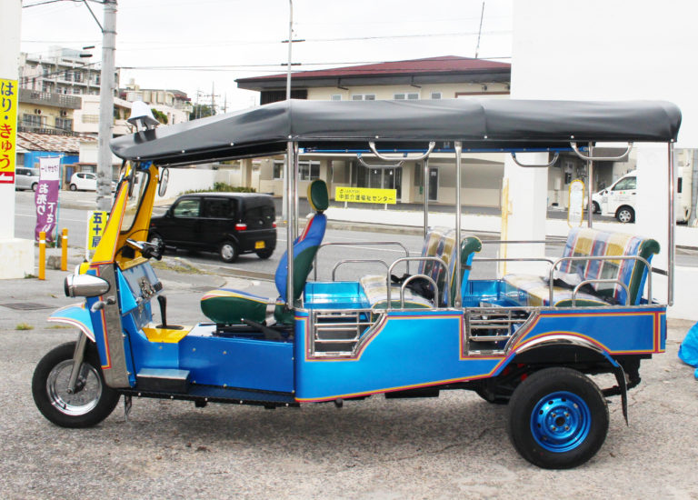 [新車]7人乗りモダンタイプ 青黄スタンダードカラー