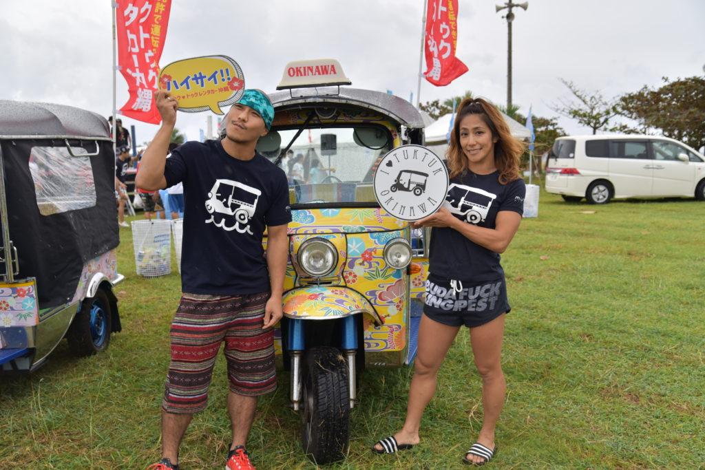 山本美憂さん&アーセンさんも来てくれました@TUKTUKFesta